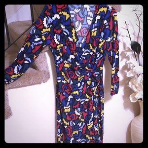 Anne Klein wrap dress size Medium